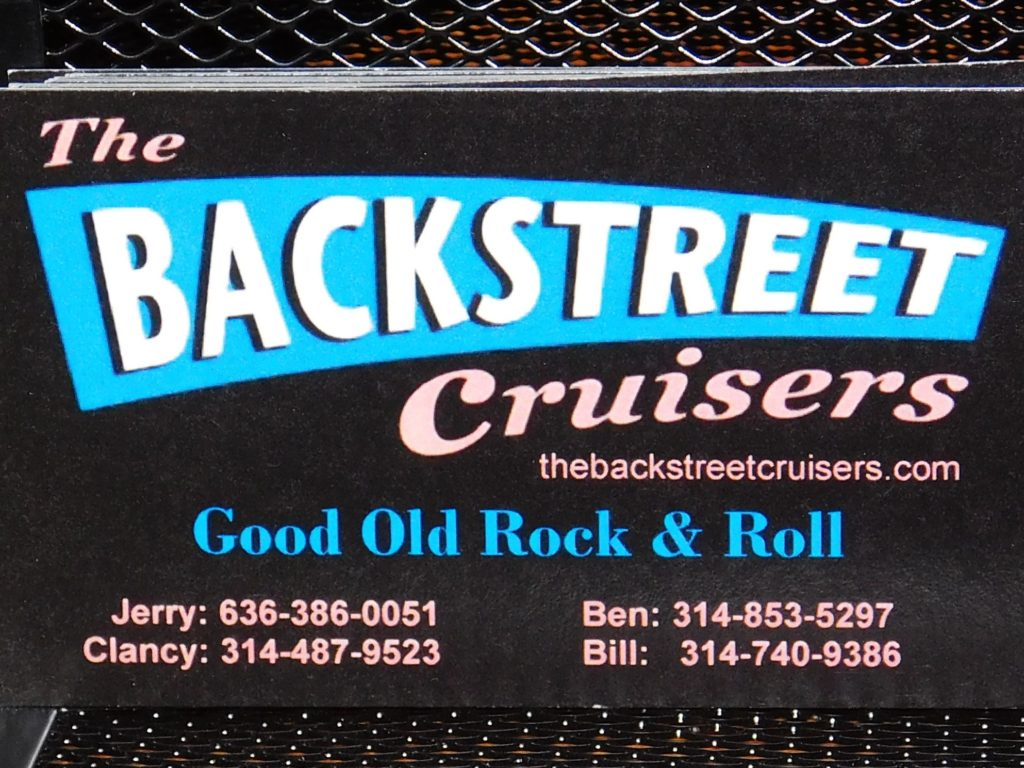 The Backstreet Cruisers - Live Band